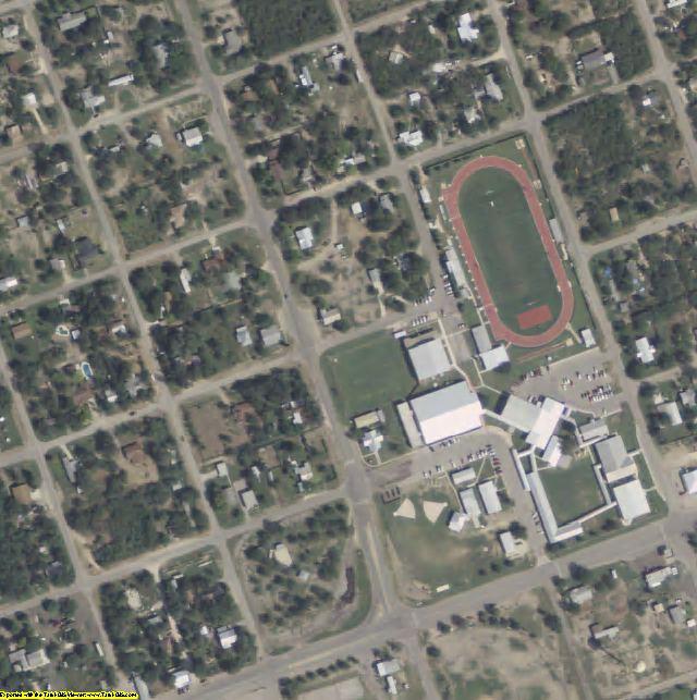 Zavala County, TX aerial photography detail