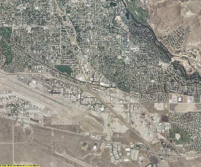 Ada County, Idaho aerial photography