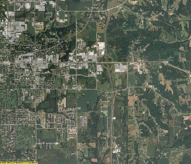 Adams County, Illinois aerial photography