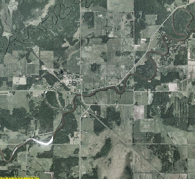 Aitkin County, Minnesota aerial photography
