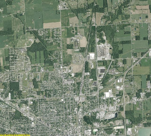 Allen County, Ohio aerial photography