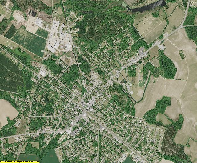 Allendale County, South Carolina aerial photography