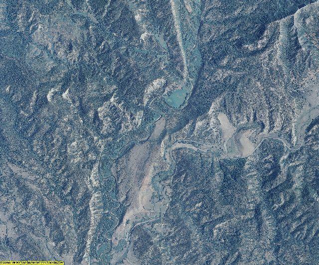 Archuleta County, Colorado aerial photography