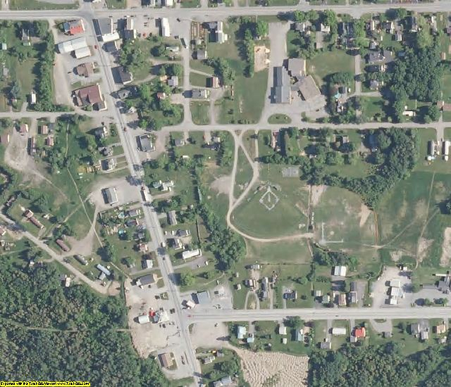 Aroostook County, ME aerial photography detail