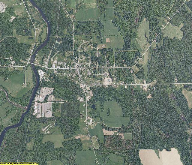 Aroostook County, Maine aerial photography