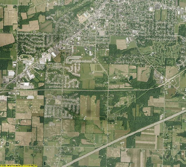 Ashland County, Ohio aerial photography