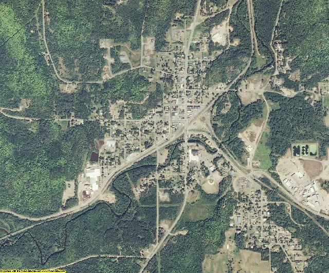 Ashland County, Wisconsin aerial photography