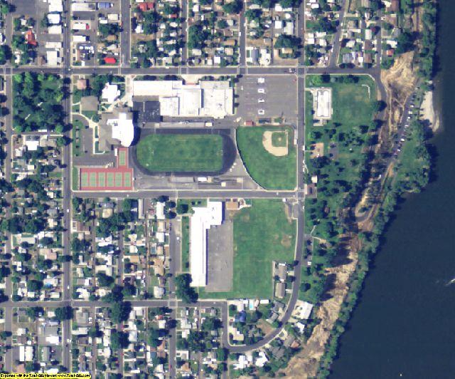 Asotin County, WA aerial photography detail