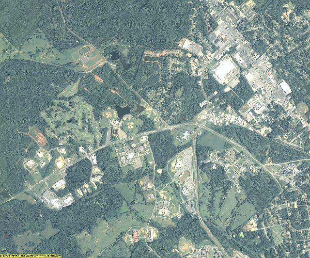 Baldwin County, Georgia aerial photography