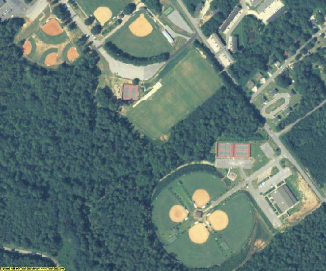 Barrow County, GA aerial photography detail