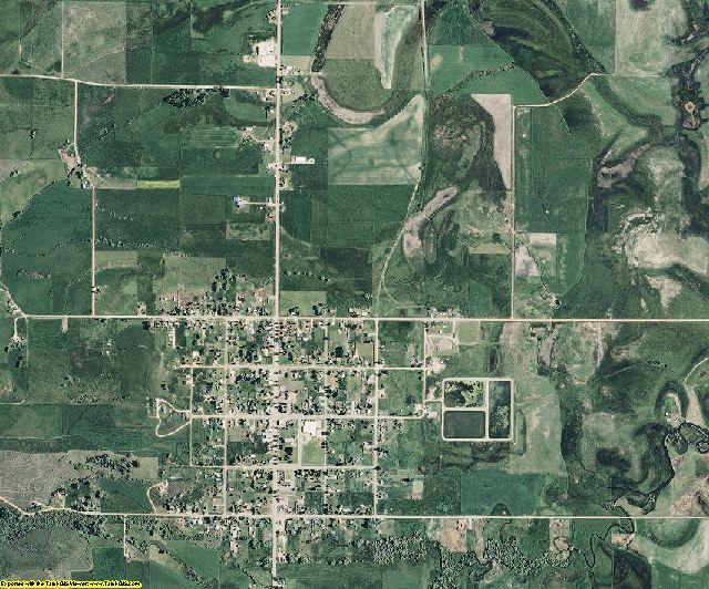 Bear Lake County, Idaho aerial photography