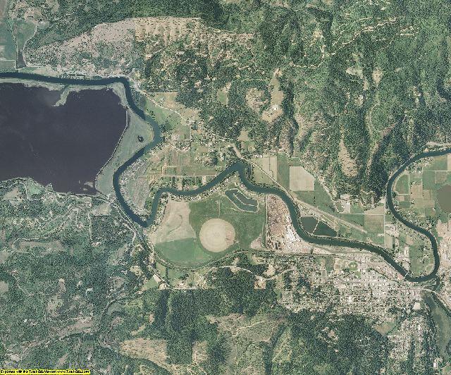 Benewah County, Idaho aerial photography