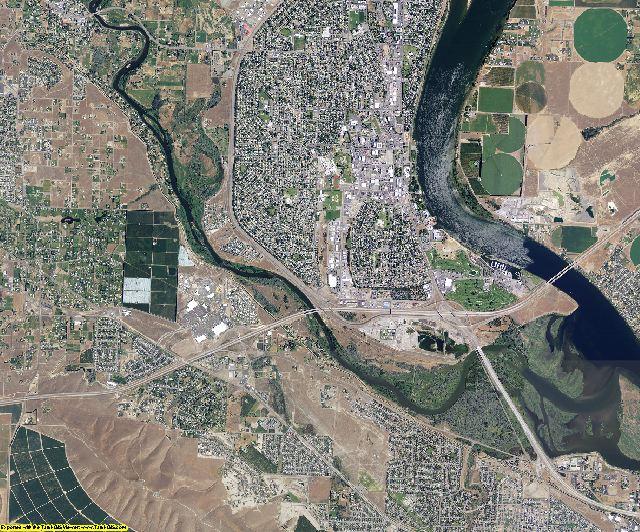 Benton County, Washington aerial photography
