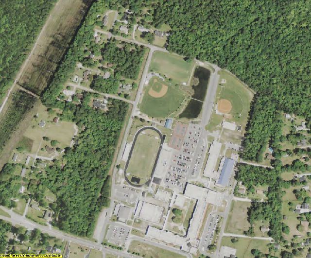 Berkeley County, SC aerial photography detail