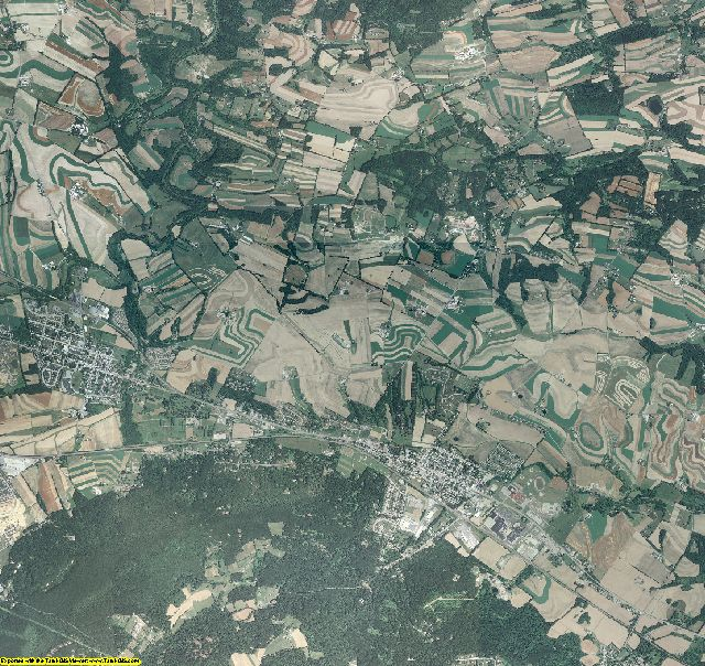 Berks County, Pennsylvania aerial photography