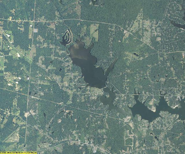 Bibb County, Georgia aerial photography