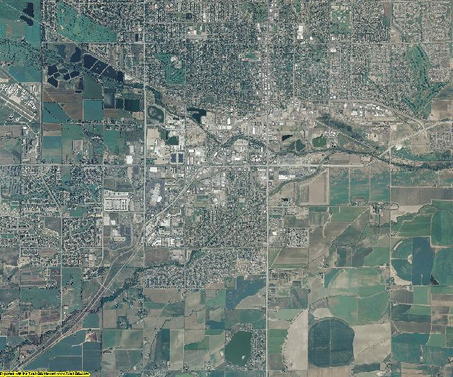 Boulder County, Colorado aerial photography