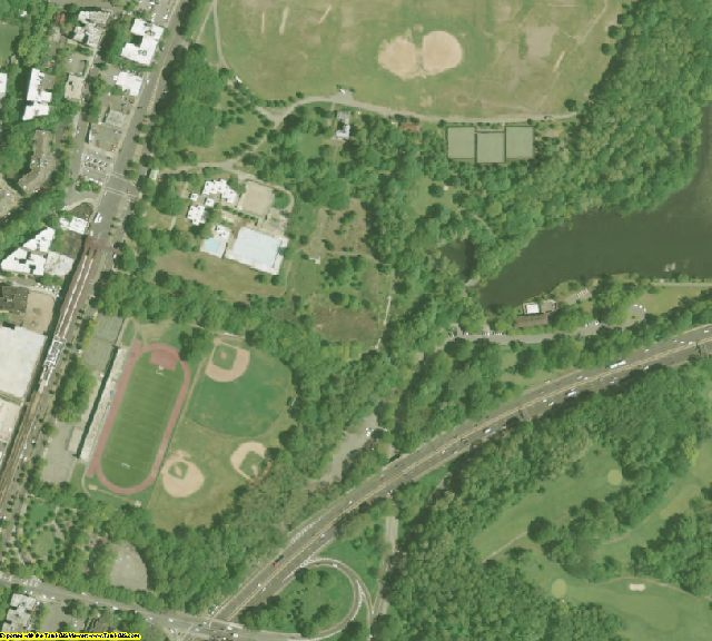 Bronx County, NY aerial photography detail