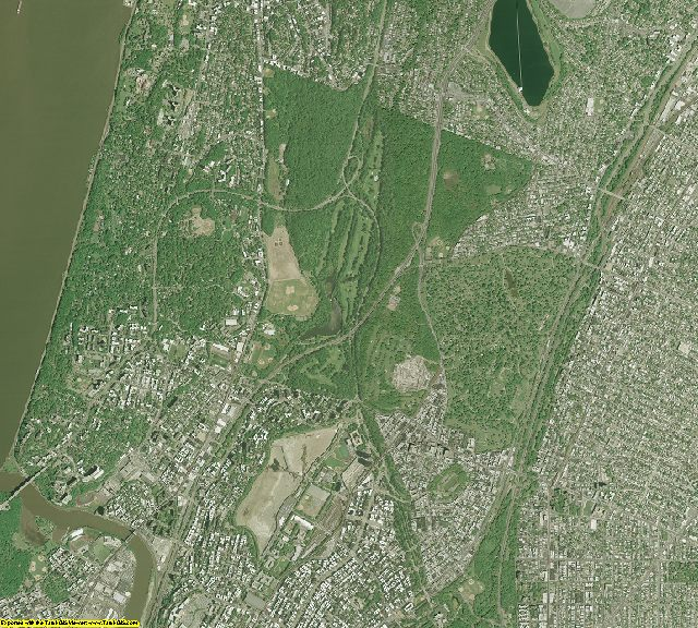 Bronx County, New York aerial photography