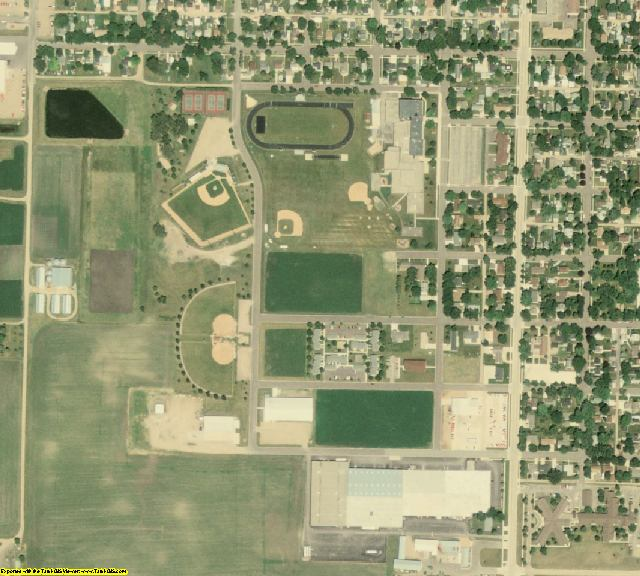 Brown County, MN aerial photography detail