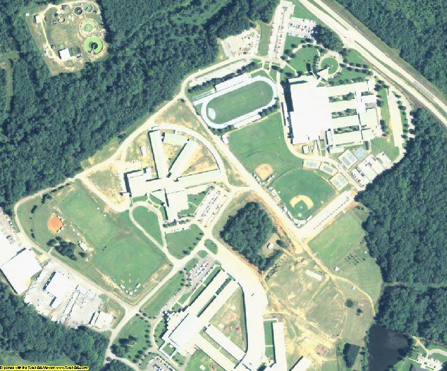 Burke County, GA aerial photography detail