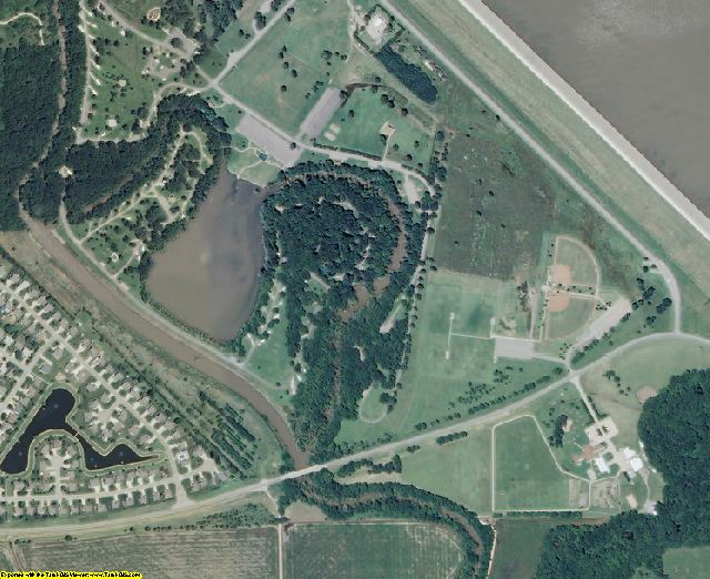 Butler County, KS aerial photography detail