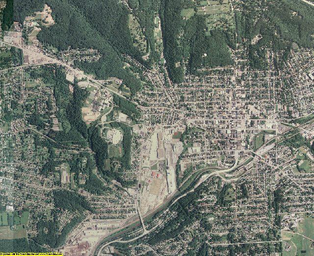 Butler County, Pennsylvania aerial photography