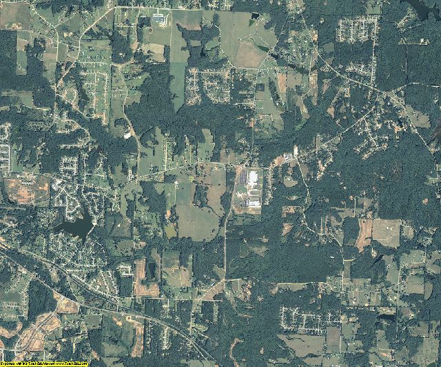 Butts County, Georgia aerial photography