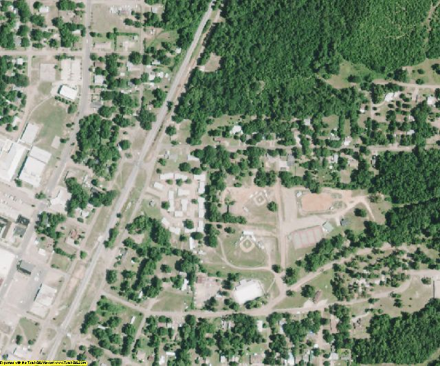 Caddo County, LA aerial photography detail
