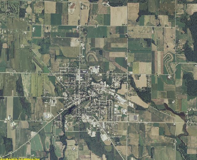 Calumet County, Wisconsin aerial photography