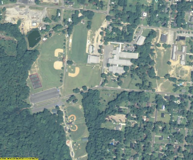 Candler County, GA aerial photography detail