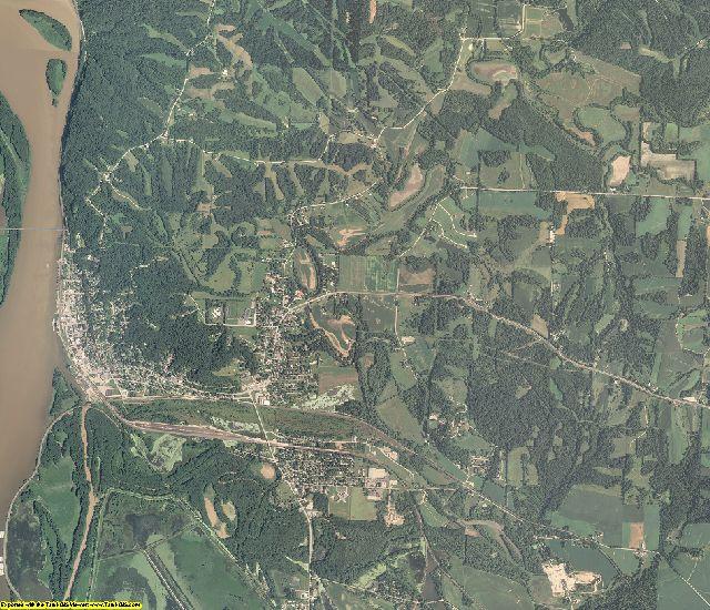 Carroll County, Illinois aerial photography