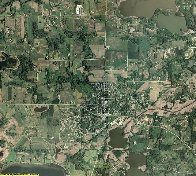 Carver County, Minnesota aerial photography