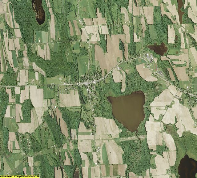 Cayuga County, New York aerial photography