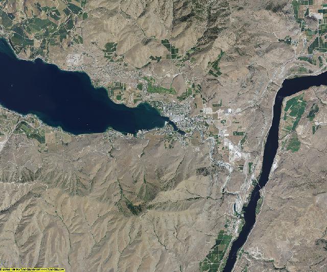 Chelan County, Washington aerial photography