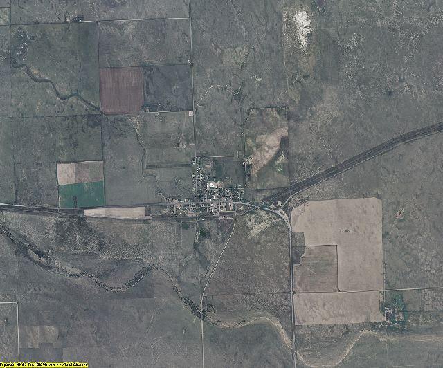 Cheyenne County, Colorado aerial photography