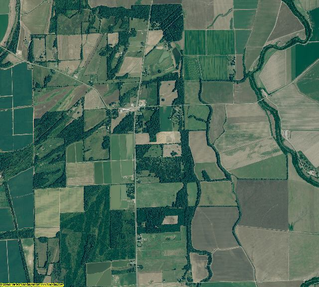 Chicot County, Arkansas aerial photography