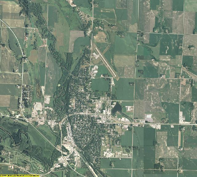 Chippewa County, Minnesota aerial photography