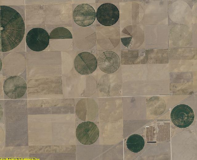Cimarron County, Oklahoma aerial photography