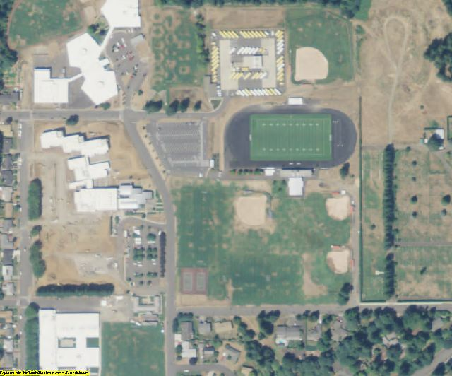 Clark County, WA aerial photography detail