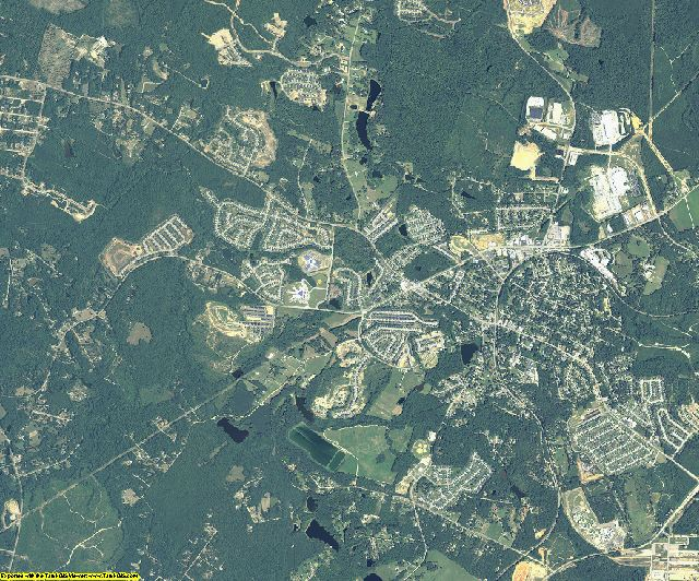 Columbia County, Georgia aerial photography