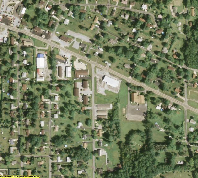Columbiana County, OH aerial photography detail