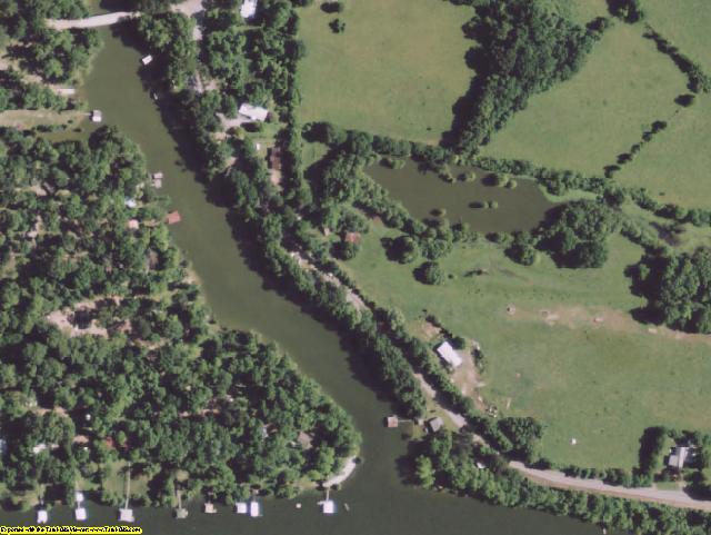 Concordia County, LA aerial photography detail