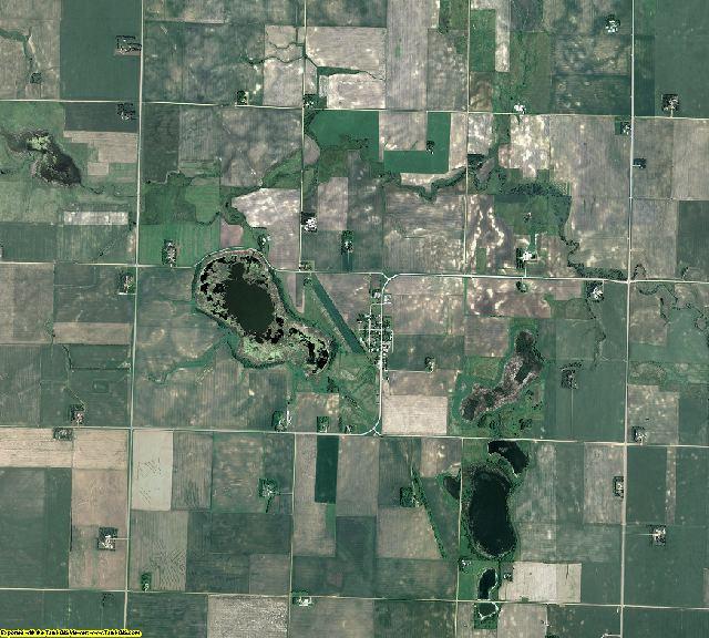 Cottonwood County, Minnesota aerial photography