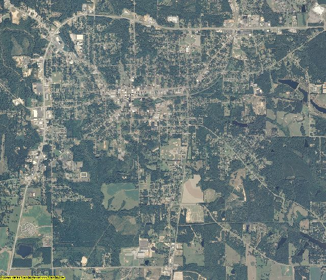 Covington County, Alabama aerial photography