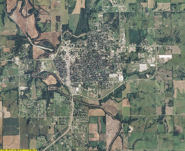 Cowley County, Kansas aerial photography