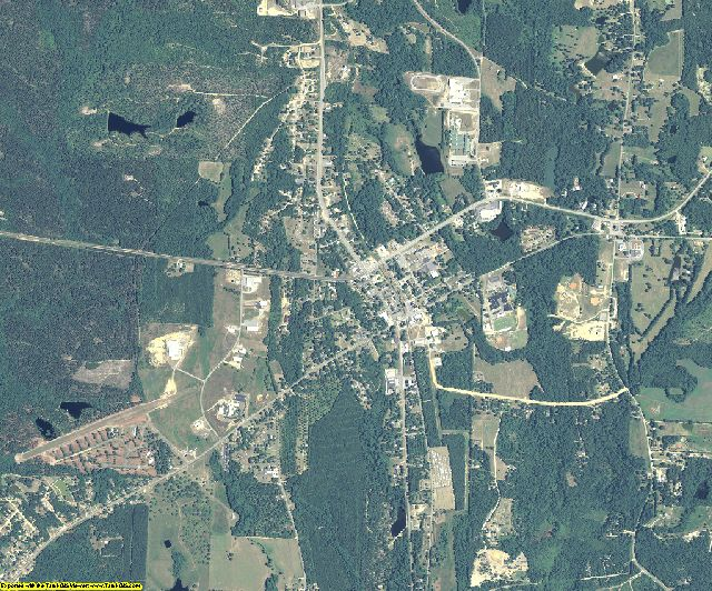 Crawford County, Georgia aerial photography