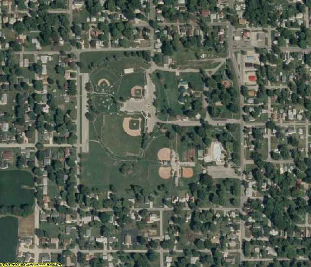 Crawford County, IL aerial photography detail