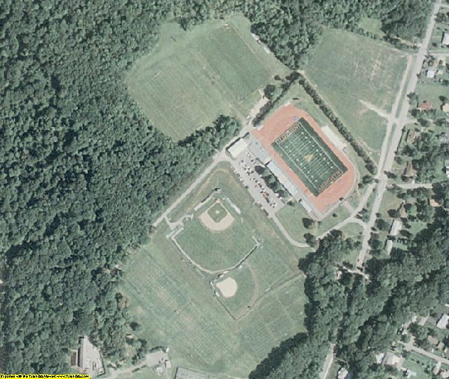 Crawford County, PA aerial photography detail