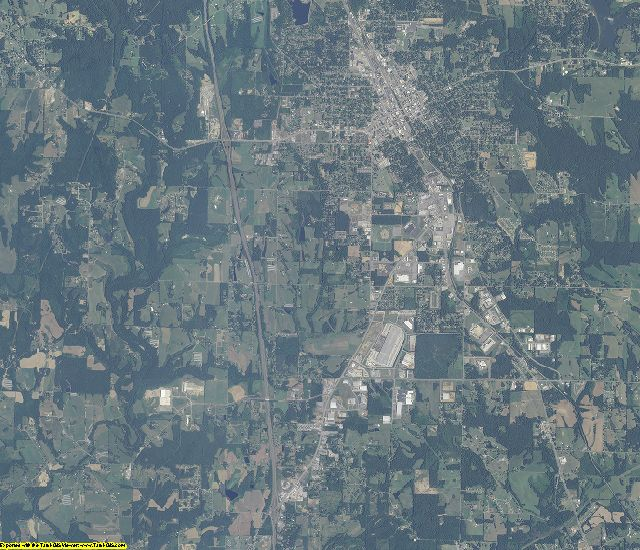 Cullman County, Alabama aerial photography